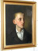 Szemlér Mihály - Fiatal fiú portré 1850