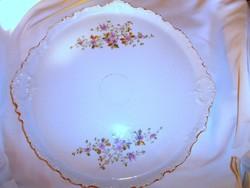 Nagy méretű 41 cm  szecessziós porcelán tálca