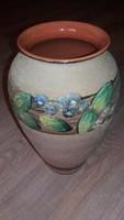 Gyönyörű nagyméretű (33cm) váza