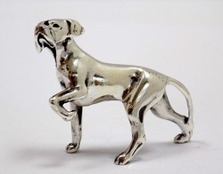 Ezüst vizsla miniatűr figura (ZAL-BI37484)
