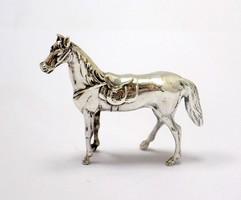 Ezüst ló miniatűr (ZAL-BI37482)