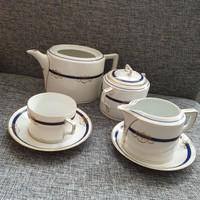 Nagyon ritka 1920-1930-as évekből származó Merkelsgrün porcelan teás szett pótlásnak