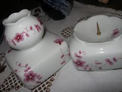 Lichte váza és gyertyatartó