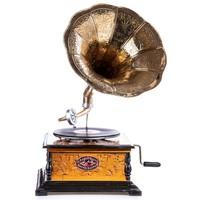 Tölcséres gramofon hanglejátszó készülék