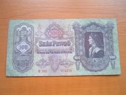 100 PENGŐ 1930 E360 #