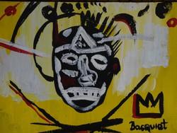 Bevezető áron! Jean-Michel Basquiat