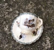 Sarreguemines ritka káves csésze