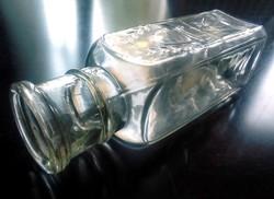 Régi mézes üveg 1/2kg