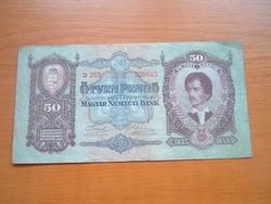 50 PENGŐ 1932 D253 #