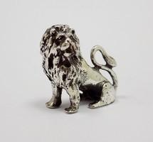 Ezüst oroszlán miniatűr (ZAL-BI37493)