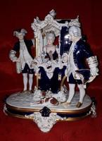 Royal Dux barokk hintó