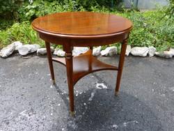 Szecessziós mahagóni asztal