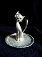 Gyűrűtartó cica/macska