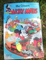 Figyelem!! Gyűjtőknek is!! Fémből készült Walt Disney Mickey Mouse lemez tábla