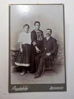 Antik fotó , Csoportkép , Szerdahelyi