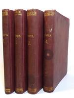 Tompa Mihály Összes költeményei - Teljes kiadás 1.-4. 1885