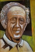 Balázs János (1905-1977): Önarckép 1975.