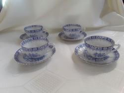 Bavaria China Blau kávés csésze aljjal  /  2648