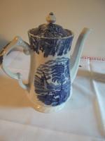 Jelzett angol porcelán teáskancsó!