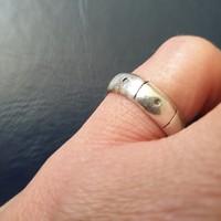 Ezüst (925/F51/Mexico) gyűrű
