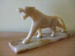 Art Deco márvány tigris