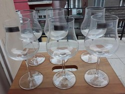 Villeroy & Boch márkájú elegáns boros üvegpoharak