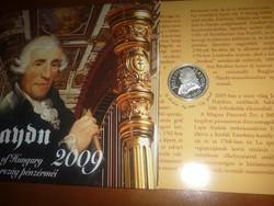 Dísztokos Haydn  forgalmi sor  2009-ből! PP UNC!