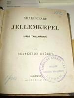 Brankovics György: Shakespeare jellemképei - tanulmányok
