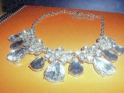 LUXUS Swarovski Crystal CSEPP 18k Arany b. Nyakék