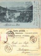 Schweiz - Svájc   Thun   1900  RK