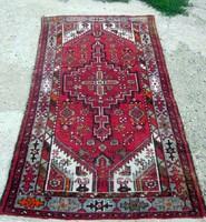 Antik perzsaszőnyeg , iráni , kézi csomózású! 100 x 200 cm