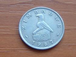 ZIMBABWE 10 CENT 1987  FA #