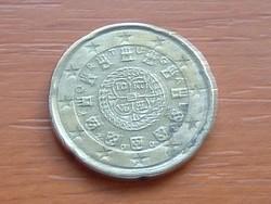 PORTUGÁLIA 20 EURO CENT 2002 #