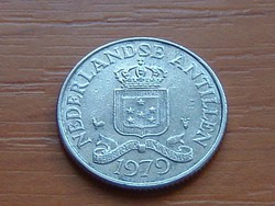 HOLLAND ANTILLÁK 25 CENT 1979   #