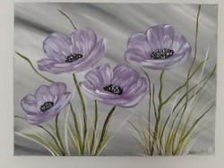 Lila virágok