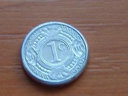 HOLLAND ANTILLÁK 1 CENT 2001   ALU. KICSI 14 mm #