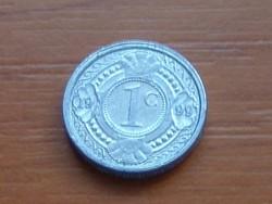 HOLLAND ANTILLÁK 1 CENT 1999   ALU. KICSI 14 mm #