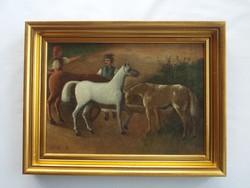 Szemlér Mihály festmény