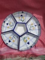 6 részes asztali kőporcelán kínáló