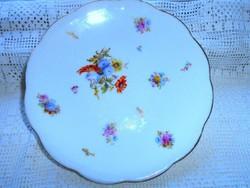 Hüttl Tivadar  jelzett  tányér 18,5 cm