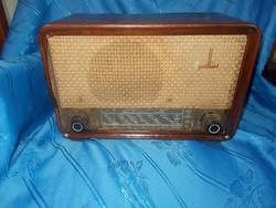 régi ritka paillard svájci csöves rádió 1948