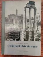Szentkirályi Zoltán Détshy Mihály Az építészet rövid története