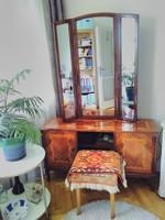 Neobarokk toalett asztal