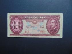 100 forint 1960 B 216 RITKA évszám