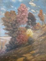 Őszi táj, festmény