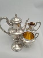 Fantasztikus ezüst kávés szett