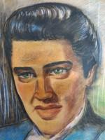 Oláh Mária Elvis portrè