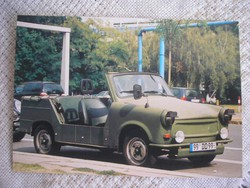 Trabant katonai 601 Tramp Támadni még csak-csak,de menekülni? 1967-es álom autó ritkaság