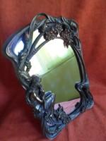 Gyönyörű szecessziós tükörkeret