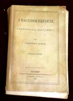 Vámbéry Ármin:A magyarok eredete.1882.